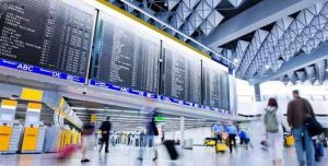 change foreign coins for airports and airlines
