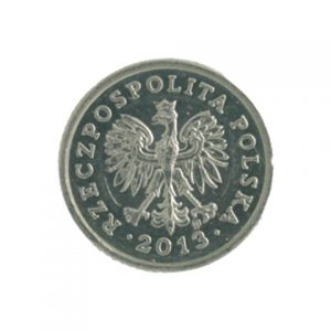 Poland 10 groszy coin