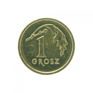Poland 1 groszy coin