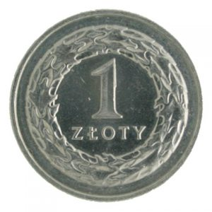 Poland 1 zloty coin