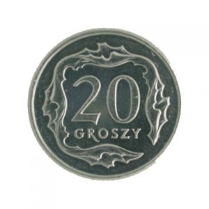 Poland 20 groszy coin