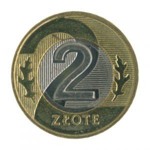 Poland 2 zloty coin
