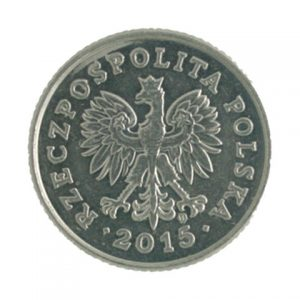 Poland 50 groszy coin