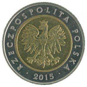 Poland 5 zloty coin